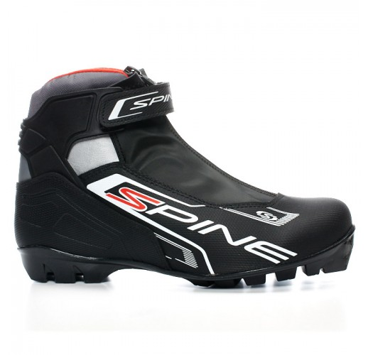 Ботинки лыжные SPINE NNN X-RIDER (черные) 254