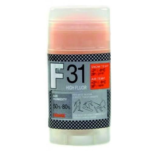 Мазь скольжения SOLDA F 31, ORANGE  (+2°С ... -9°С), 35 g