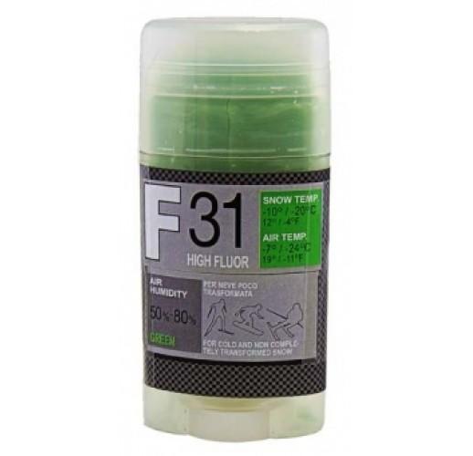 Мазь скольжения SOLDA F 31, GREEN  (-7°С ... -24°С), 35 g