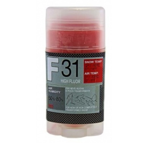 Мазь скольжения SOLDA F 31, RED  (0°С ... -13°С), 35 g