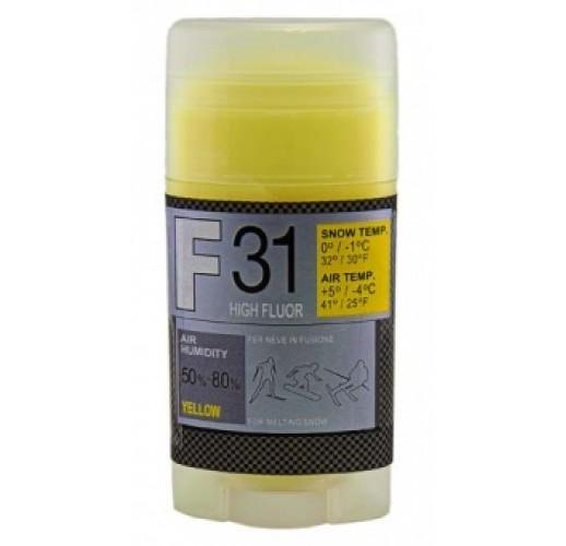 Мазь скольжения SOLDA F 31, YELLOW  (-4°С ... +5°С), 35 g